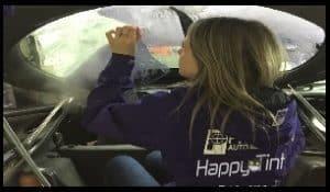 Defoliere exfoliere curatare folie geamuri auto si cladiri